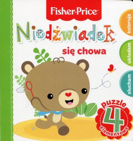 Fisher Price Puzzle Niedźwiadek się chowa - Anna Wiśniewska | okładka