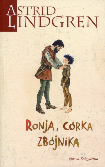 Ronja, córka zbójnika - Astrid Lindgren | okładka