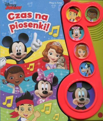 Disney Junior Czas na piosenki - zbiorowa praca | okładka