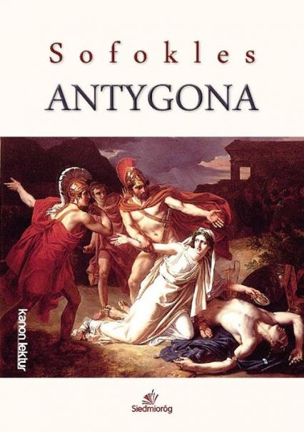 Antygona - Sofokles | okładka