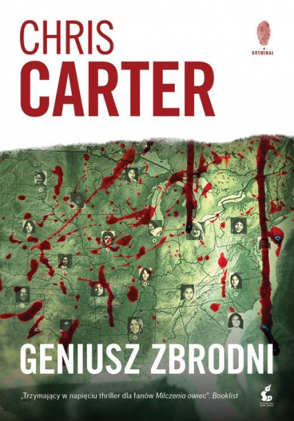 Geniusz zbrodni - Chris Carter | okładka