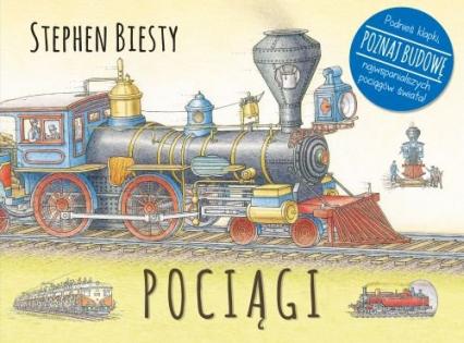 Pociągi - Stephen Biesty | okładka