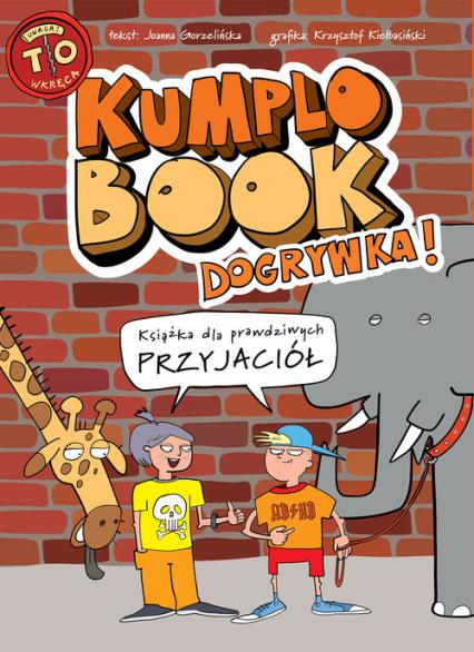Kumplobook. Dogrywka - Joanna Gorzelińska | okładka