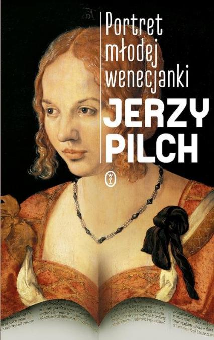 Portret młodej wenecjanki - Jerzy Pilch | okładka