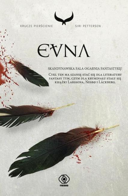 Krucze pierścienie 3 Evna - Siri Pettersen   okładka