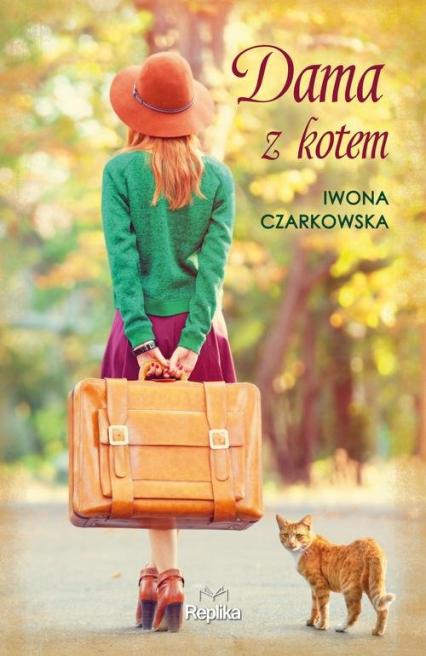 Dama z kotem - Iwona Czarkowska | okładka