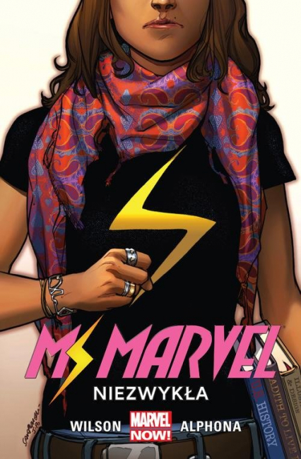 Ms Marvel Niezwykła Tom 1 - Wilson G. Willow | okładka