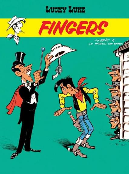 Lucky Luke Fingers - Van Banda Lo Hartog | okładka