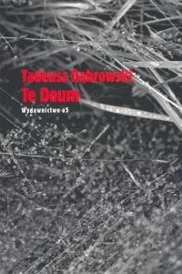 Te Deum Tom 48 - Tadeusz Dąbrowski   okładka