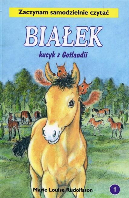 Białek kucyk z Gotlandii Tom 1 Zaczynam samodzielnie czytać - Rudolfsson Marie Louise | okładka