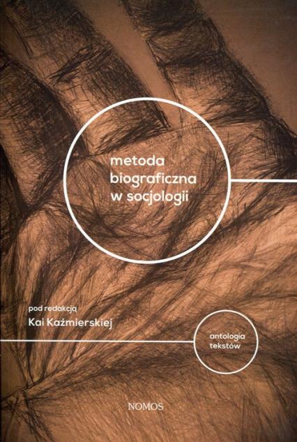 Metoda biograficzna w socjologii Antologia tekstów -    okładka