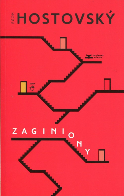 Zaginiony - Egon Hostovsky   okładka
