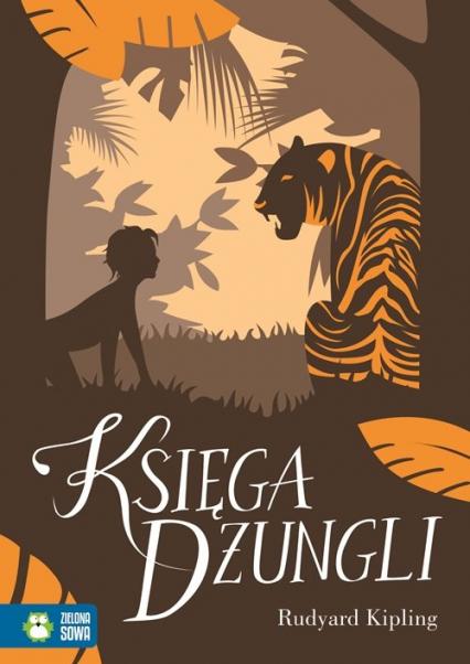 Księga Dżungli - Rudyard Kipling   okładka