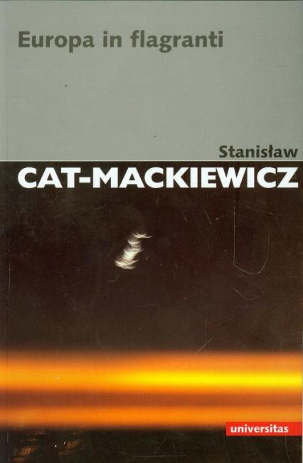 Europa in flagranti - Stanisław Cat-Mackiewicz   okładka