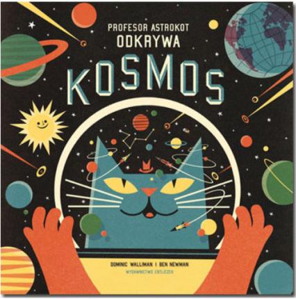 Profesor Astrokot odkrywa kosmos -    okładka