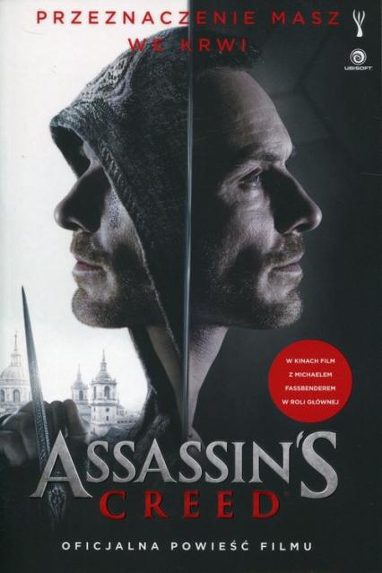 Assassin's Creed Oficjalna powieść filmu - Christie Golden | okładka