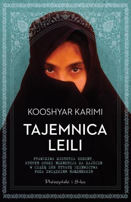 Tajemnica Leili - Kooshyar Karimi | okładka
