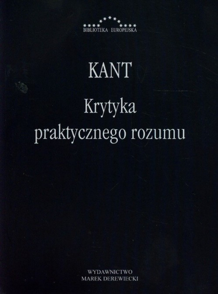 Krytyka praktycznego rozumu - Immanuel Kant | okładka