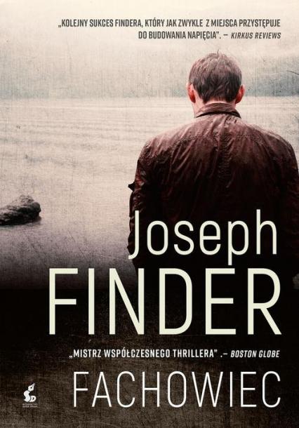Fachowiec - Joseph Finder   okładka