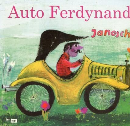 Auto Ferdynand - Janosch | okładka