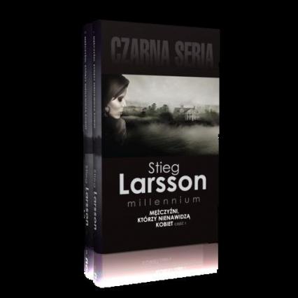 Mężczyźni, którzy nienawidzą kobiet Część 1-2 Pakiet - Stieg Larsson | okładka