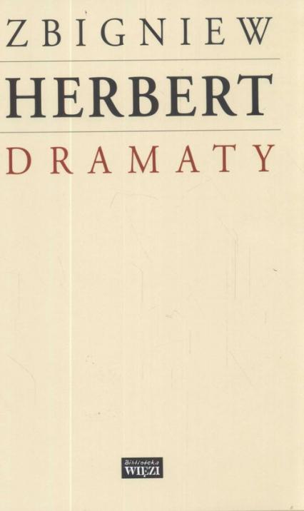 Dramaty - Zbigniew Herbert | okładka