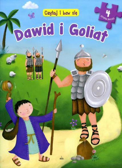 Czytaj i baw się Dawid i Goliat -  | okładka