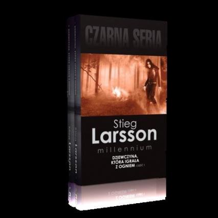 Dziewczyna, która igrała z ogniem Część 1-2 Pakiet - Stieg Larsson   okładka