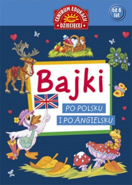 Bajki po polsku i po angielsku -  | okładka