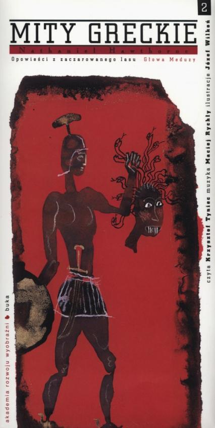Mity greckie Głowa Meduzy + CD