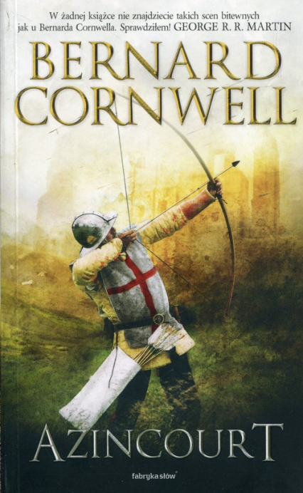 Azincourt - Bernard Cornwell   okładka