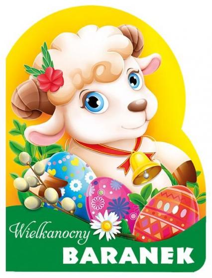 Wielkanocny baranek Wykrojnik - Urszula Kozłowska | okładka