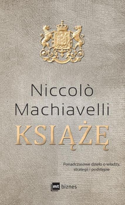 Książę - Niccolo Machiavelli | okładka