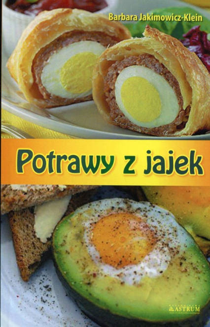 Potrawy z jajek - Barbara Jakimowicz-Klein   okładka