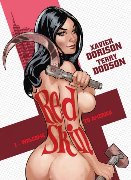 Red skin Tom 1 Welcome to America - Dorison Xavier, Dodson Terry   okładka