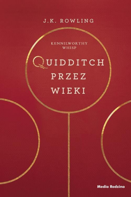 Quidditch przez wieki - J.K. Rowling | okładka