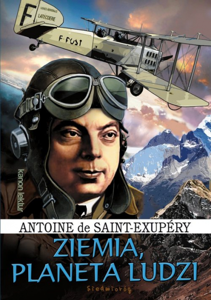 Ziemia Planeta ludzi - Saint-Exupéry de Antoine | okładka
