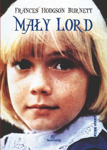 Mały Lord - Frances Hodgson Burnett   okładka