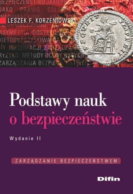 Podstawy nauk o bezpieczeństwie - Korzeniowski Leszek F.   okładka