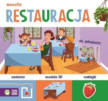 Wesoła restauracja - zbiorowa praca   okładka