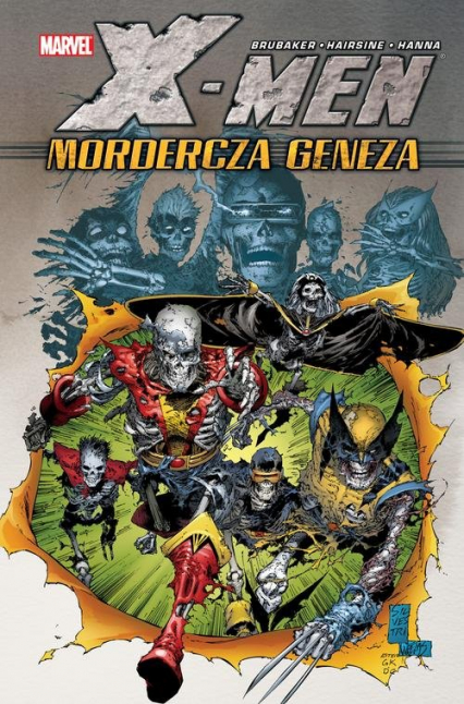 X-Men - Mordercza geneza Marvel Classic - Ed Brubaker   okładka