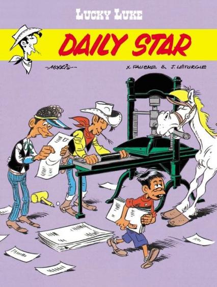 Daily Star Lucky Luke - Fauche Xavier, Léturgie Jean | okładka