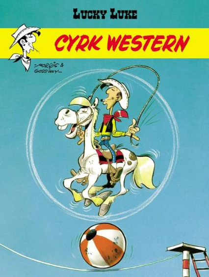 Cyrk Western Lucky Luke - Rene Goscinny | okładka