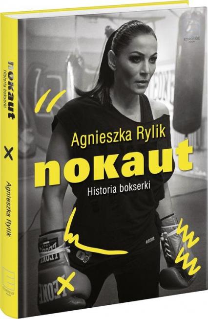 Nokaut. Historia bokserki - Agnieszka Rylik | okładka