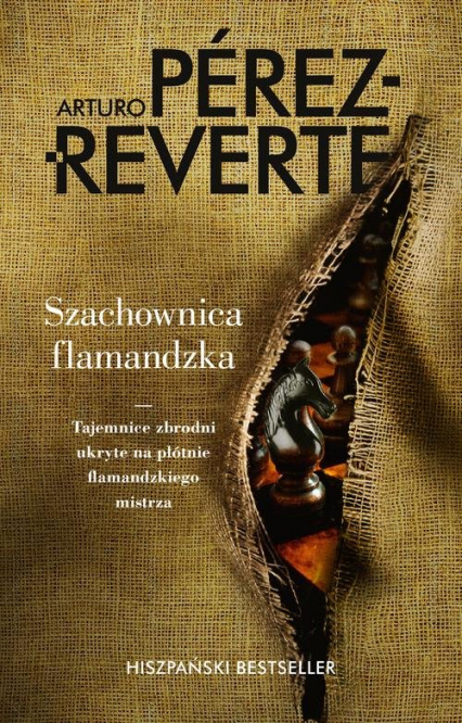 Szachownica flamandzka - Arturo Perez-Reverte | okładka