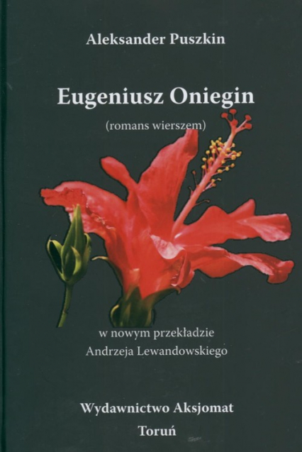 Eugeniusz Oniegin - Aleksander Puszkin | okładka