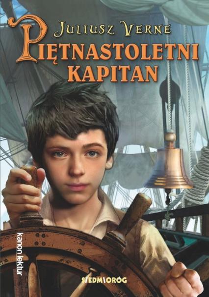 Piętnastoletni kapitan - Juliusz Verne | okładka