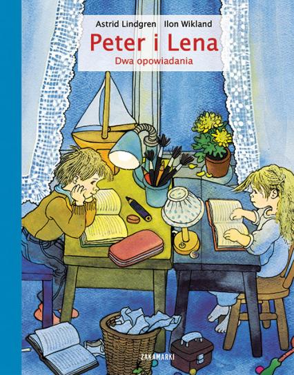Peter i Lena Dwa opowiadania - Astrid Lindgren   okładka