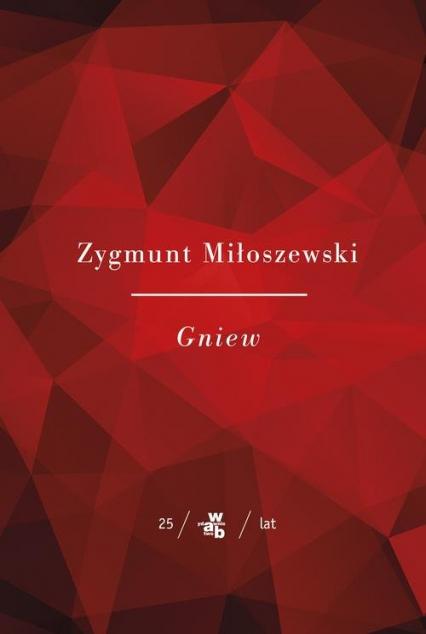 Gniew - Zygmunt Miłoszewski   okładka