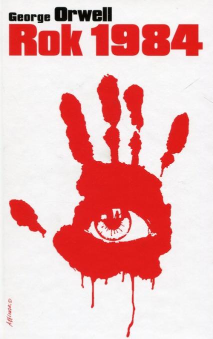 Rok 1984 - George Orwell | okładka